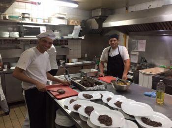 Chef Flavio Pontes e Sub Chef Jones Pinheiro